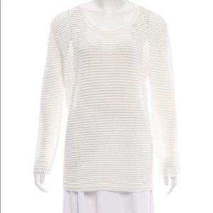 MAISON KITSUNE  knit sweater long sleeves large